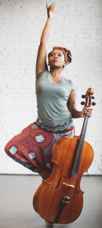 Octavia Reese Yoga Cello Dance