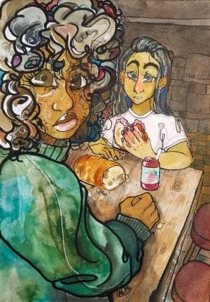 The Hibouleans PeanutBuddarArt Octavia Reese