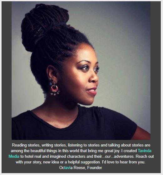 Tavinda Media Founder Octavia Reese