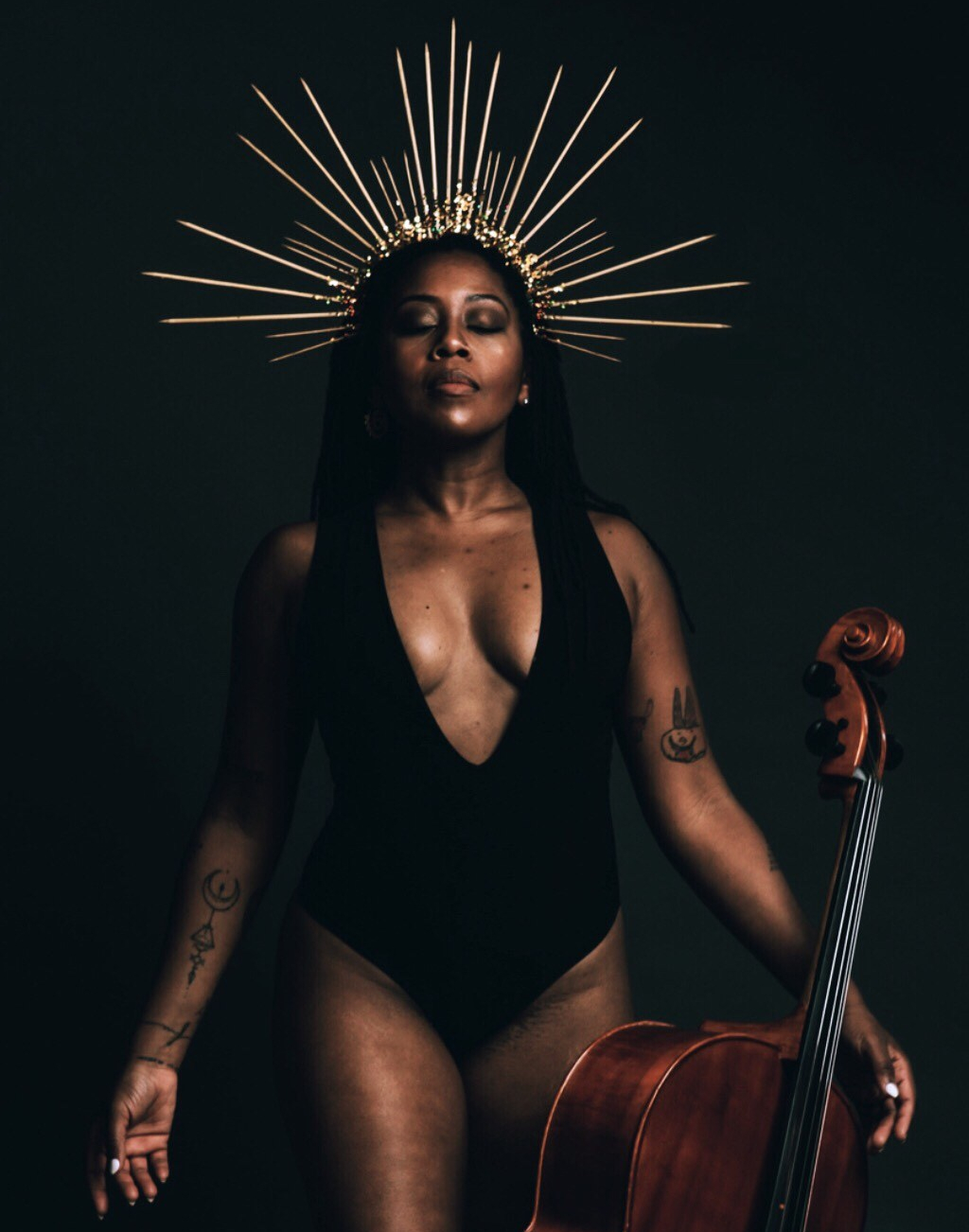 Cello Goddess Closed Octavia Reese Miss Michigan The Hibouleans